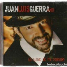 CDs de Música: CD JUAN LUIS GUERRA : LA LLAVE DE MI CORAZON ( CONTIENE 12 CANCIONES + 1 BONUS TRACK ). Lote 141840890