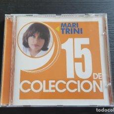 CDs de Música: MARI TRINI - 15 DE COLECCIÓN - CD ALBUM - EMI - 2002. Lote 141847754