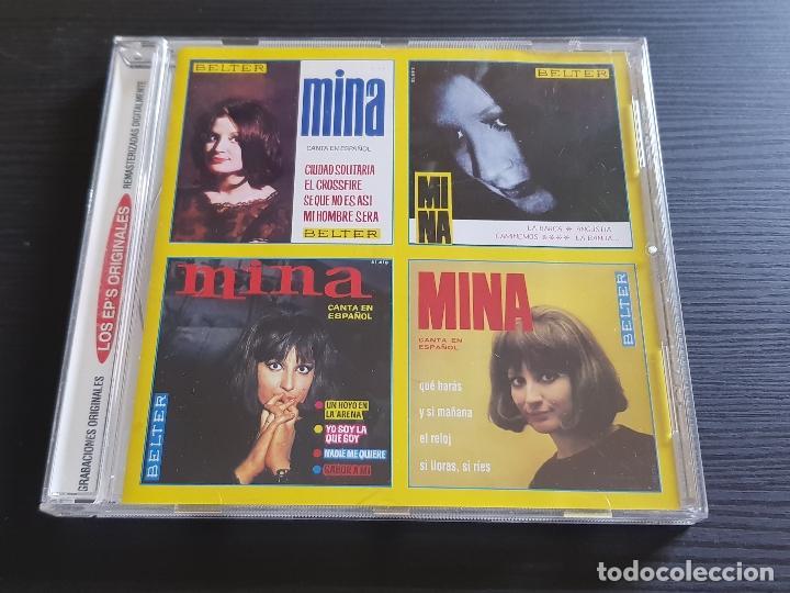 MINA - LOS EP´S ORIGINALES - CD ALBUM - BELTER - DIVUCSA - 2003 (Música - CD's Pop)