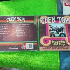 CDs de Música: TEEN TOPS CD LEYENDAS DEL POP. Lote 141901224