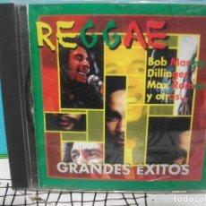 CDs de Música: BOB MARLEY / DILLINGER / MAX ROMEO Y MAS - REGGAE. GRANDES EXITOS - VILLAGE RECORDS COMO NUEVO¡¡. Lote 141930582