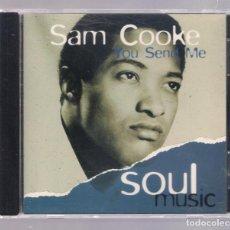 CDs de Música: SAM COOKE - YOU SEND ME (CD 1997, ALTAYA SOUL MUSIC SI003). Lote 141933010