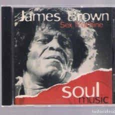 CDs de Música: JAMES BROWN - SEX MACHINE (CD 1997, ALTAYA SOUL MUSIC SI001). Lote 141933290