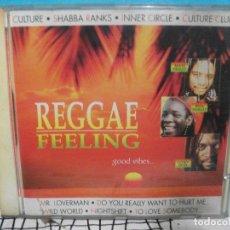 CDs de Música: REGGAE FEELING CD ALBUM 1993 COMO NUEVO¡¡¡ PEPETO. Lote 141936738