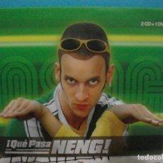 CDs de Música: ¡ QUE PASA NENG ! EDU SOTO EL NEN DE CASTEFA 2 CD + DVD 2005 MILK INC DJ F. WALLY LOPEZ PEPETO. Lote 228327940