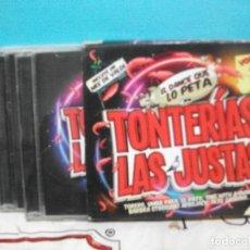 CDs de Música: TONTERIAS LAS JUSTAS VOL 2 CAJA CON 3 CD VALDI MIX AVICII DAZE DUCK SAUCE PH ELECTRO DJ BOBO PEPETO. Lote 141957114