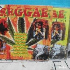CDs de Música: REGGAE DOBLE CD ALBUM EXITOS 2002 COMO NUEVO¡¡. Lote 141957414