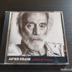 CDs de Música: JAVIER KRAHE - LAS DIEZ DE LAS ÚLTIMAS - CD ALBUM - 18 CHULOS - 2013. Lote 141965510