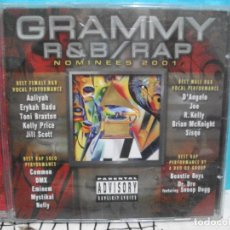 CDs de Música: GRAMMY R & B /RAP NOMINEES 2001 CD ALBUM CAPITAL COMO NUEVO¡¡ PEPETO. Lote 141969522
