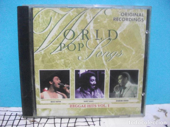 WORLD POP SONGS REGGAE HITS CD ALBUM COMO NUEVO¡¡ (Música - CD's Reggae)