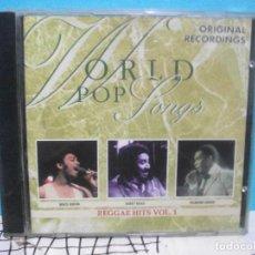 CDs de Música: WORLD POP SONGS REGGAE HITS CD ALBUM COMO NUEVO¡¡. Lote 141969558