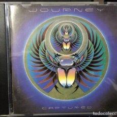 CDs de Musique: JOURNEY - CAPTURED LIVE (1981) REEDICION EUROPA. Lote 141971134