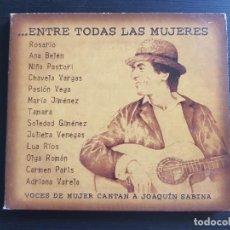 CDs de Música: ...ENTRE TODAS LAS MUJERES - VOCES DE MUJER CANTAN A JOAQUÍN SABINA - CD ALBUM - BMG - 2003. Lote 142022118
