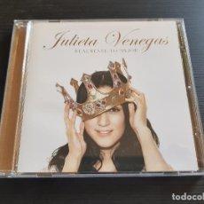 CDs de Música: JULIETA VENEGAS - REALMENTE LO MEJOR - CD ALBUM - SONY - 2007. Lote 142022790