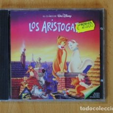 CDs de Música: WALT DISNEY - LOS ARISTOGATOS (BANDA SONORA EN ESPAÑOL) - CD. Lote 142042254