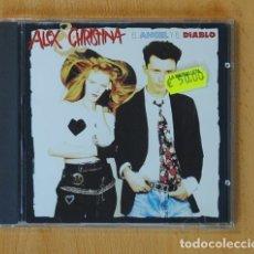 CDs de Música: ALEX & CHRISTINA - EL ANGEL Y EL DIABLO - CD. Lote 142042417