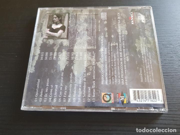 CDs de Música: JUIETA VENEGAS - AQUÍ - CD ALBUM - BMG - 1998 - Foto 2 - 142072622