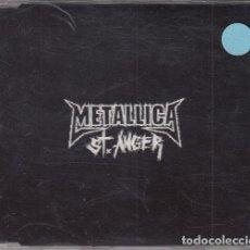 CDs de Música: METALLICA - ST ANGER CD SINGLE PROMOCIONAL CON DOS TEMAS. Lote 142088222