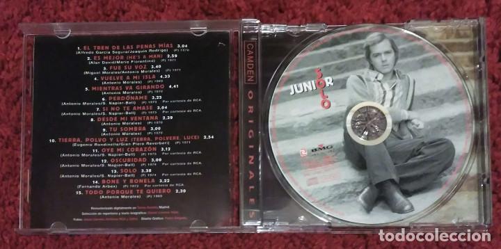 CDs de Música: JUNIOR (SOLO) CD 2001 * Raro - LOS PEKENIKES - LOS BRINCOS - ANTONIO MORALES - Foto 3 - 142102574