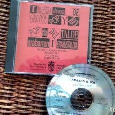 CDs de Música: CD-ALBUM I MUESTRA ALAVESA DE POP Y ROCK. Lote 142127302
