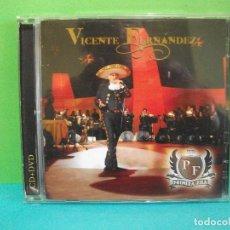 CDs de Música: VICENTE FERNANDEZ - PRIMERA FILA - CD / DVD COMO NUEVO¡¡ PEPETO. Lote 142151438