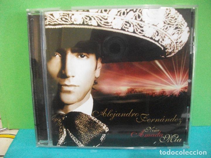ALEJANDRO FERNANDEZ NIÑA AMADA MIA CD ALBUM SONY / COLUMBIA COMO NUEVO¡¡ (Música - CD's Latina)