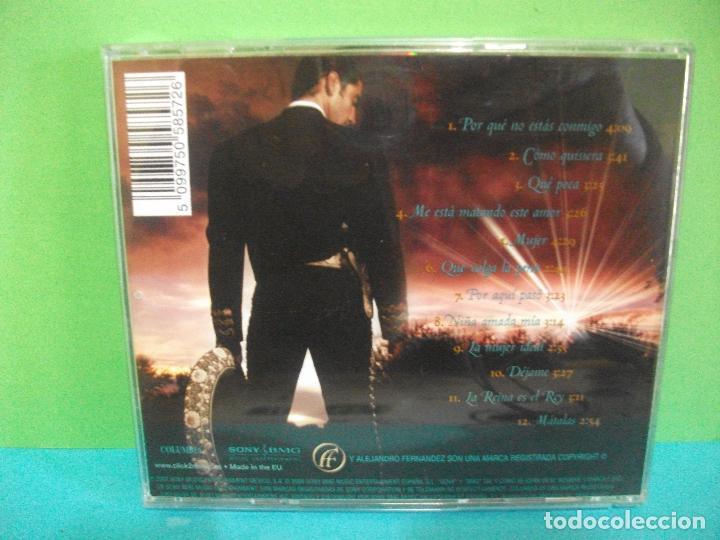 CDs de Música: alejandro fernandez niña amada mia cd album sony / columbia como nuevo¡¡ - Foto 2 - 142153002
