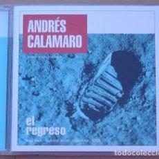 CDs de Música: ANDRES CALAMARO - EL REGRESO (CD) 2005 - 21 TEMAS. Lote 142163346