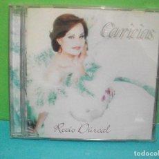 CDs de Música: ROCIO DURCAL CD ALBUM CARICIAS BMG 2001 COMO NUEVO¡¡. Lote 142163990