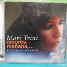 CDs de Música: MARI TRINI (AMORES, MAÑANA,... Y OTROS GRANDES EXITOS) CD 2003 COMO NUEVO¡¡ PEPETO. Lote 142170642