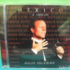 CDs de Música: JULIO IGLESIAS MEXICO & AMIGOS CD ALBUM 2017 COMO NUEVO¡¡ PEPETO. Lote 142171198