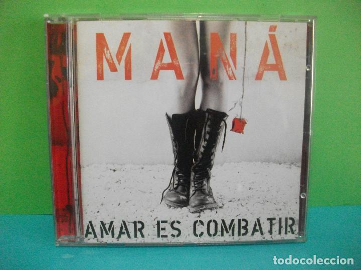 MANÁ - AMAR ES COMBATIR - WARNER MUSIC - CD ALBUM COMO NUEVO¡¡ (Música - CD's Latina)
