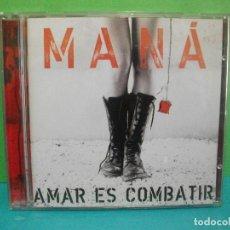 CDs de Música: MANÁ - AMAR ES COMBATIR - WARNER MUSIC - CD ALBUM COMO NUEVO¡¡. Lote 142177798