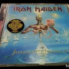 CDs de Música: IRON MAIDEN , SEVENTH SON OF A SEVENTH SON , CD REMASTERIZADO. Lote 142178686