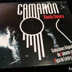 CDs de Música: CD - CAMARÓN - BANDA SONORA - PACO DE LUCÍA Y TOMATITO. Lote 142183170