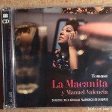 CDs de Música: LA MACANITA - CD Y DVD - PRECINTADO. Lote 153573654