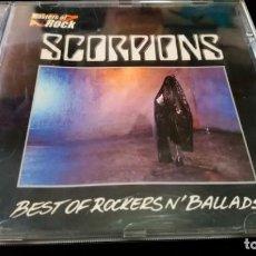 CDs de Música: SCORPIONS ?– BEST OF ROCKERS N´ BALLADS CD. Lote 142194126