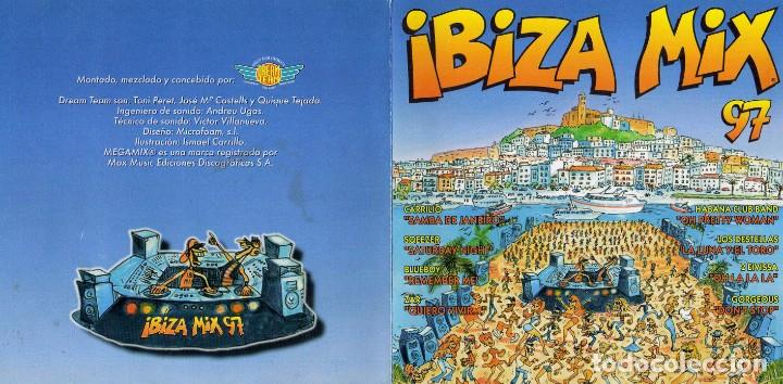 IBIZA MIX 97 2 CDS (MAX MUSIC) (Música - CD's Disco y Dance)