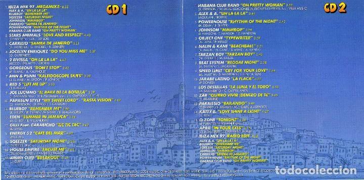 CDs de Música: IBIZA MIX 97 2 CDS (MAX MUSIC) - Foto 2 - 142195014