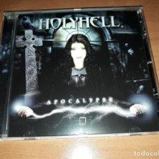 CDs de Música: HOLYHELL-APOCALIPSE-CD-SINGLE -MAIDEN JUDAS PRIEST-MANOWAR. Lote 142243746