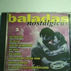 CDs de Música: BALADAS NOSTÁLGICAS 1. Lote 142249469