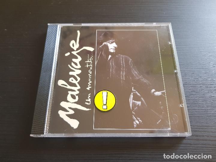 MALEVAJE - UN MOMENTITO... - CD ALBUM - DRO - 1988 (Música - CD's Latina)