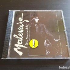 CDs de Música: MALEVAJE - UN MOMENTITO... - CD ALBUM - DRO - 1988. Lote 142261430