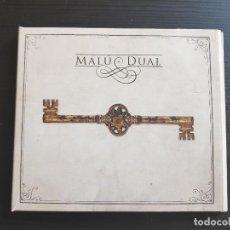 CDs de Música: MALÚ - DUAL - DOBLE CD ALBUM - SONY - 2012. Lote 142261910