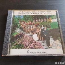 CDs de Música: LA BANDA DELLA GUARDIA SVIZZERA PONTIFICA... - CD ALBUM - GEA - 1990 - LA BANDA DI CANNOBIO. Lote 142273542