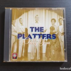 CDs de Música: THE PLATTERS - ONLY YOU - CD ALBUM - DIVUCSA - 1995. Lote 142278342