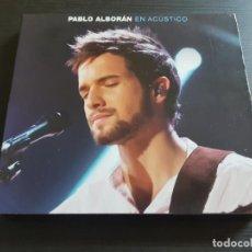 CDs de Música: PABLO ALBORÁN - EN ACÚSTICO - CD ALBUM + DVD - EMI - 2011. Lote 142278470