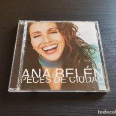CDs de Música: ANA BELÉN - PECES DE CIUDAD - CD ALBUM - BMG - 2001. Lote 277303448