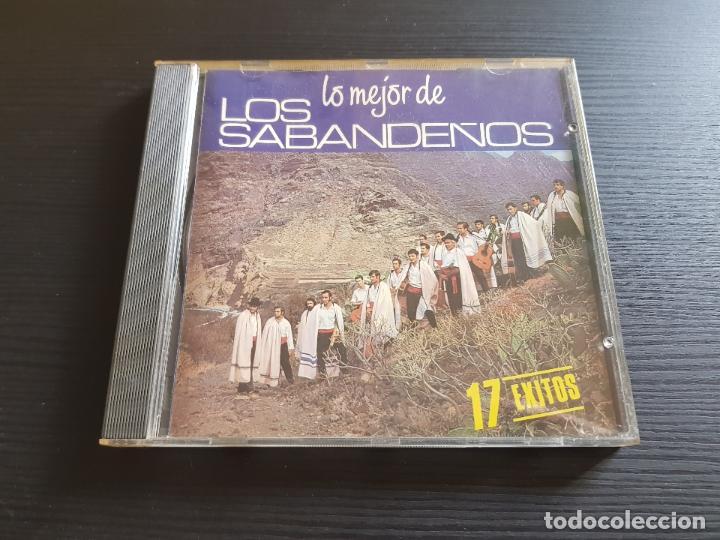 LOS SABANDEÑOS - LO MÉJOR DE - CD ALBUM - BMG - 1998 (Música - CD's Latina)