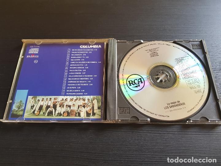 CDs de Música: LOS SABANDEÑOS - LO MÉJOR DE - CD ALBUM - BMG - 1998 - Foto 3 - 142281358